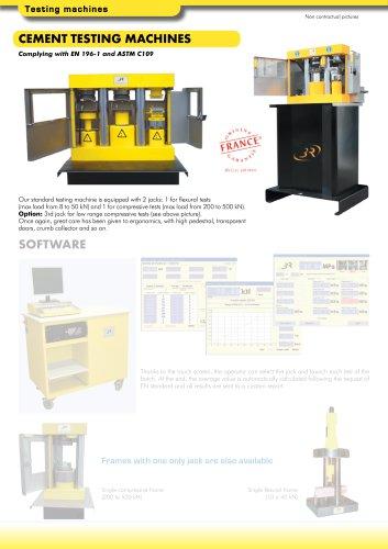 CEMENT TESTING MACHINES