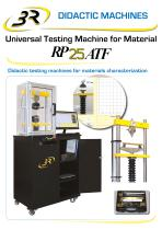 Didactic Testing Machine for materials characterization