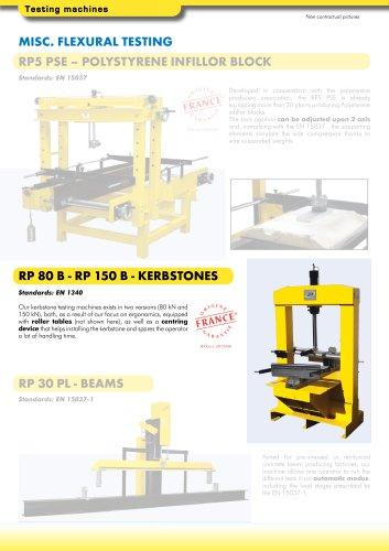 RP 80 B - RP 150 B-KERBSTONES