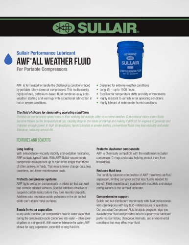 AWF® All Weather Fluid