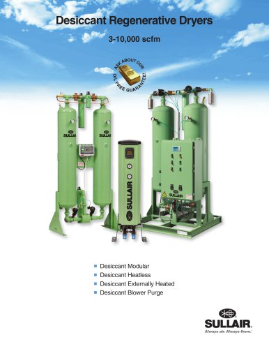Desiccant Regenerative Dryers
