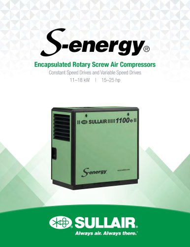Encapsulated Rotary Screw Air Compressors