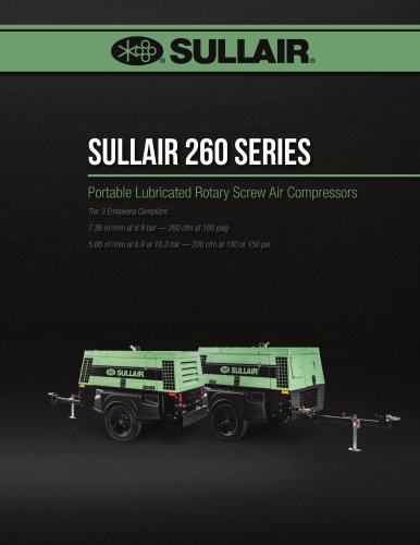Sullair 260 Series