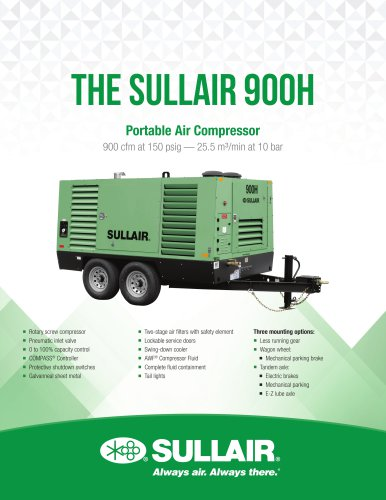 The SULLAIR 900H