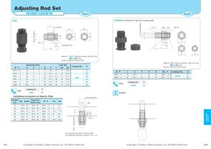 Adjusting Rod Set (For Direct Ejection Pin) - 1