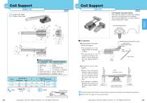 Coil Support Bronze Support Bar Type, Light Load/Heavy Load Type - 1