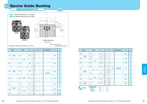 Ejector Guide Bushing