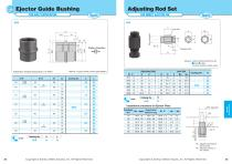 Ejector Guide Bushing for High Temperature - 1