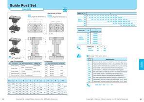 Guide Post Set Plain Type - 1