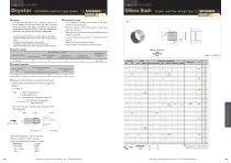 Oilless Resin Slideing Materials: Bush (Drystar) Lead Free, Straight type - 1