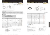 Oilless Resin Slideing Materials: Washer (Drystar) - 1