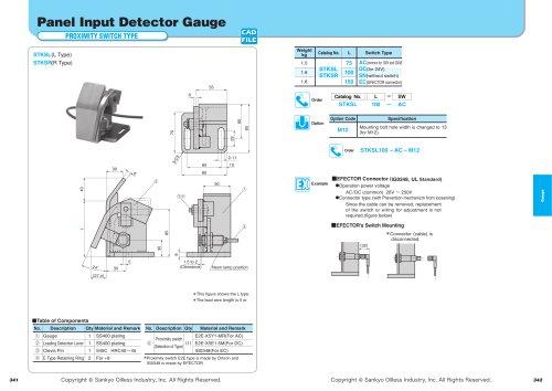 Panel Input Detector  Gauge