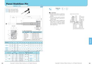 Panel Stabilizer Pin Plate Spring Type - 1