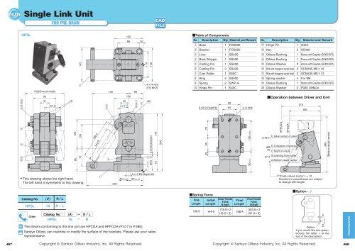 Single Link Unit