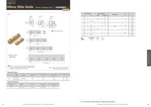 Slide Guide Bronze L-Shaped type - 1