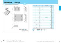 Slide Plate:Slide Plate Thickness 20mm-Steel Type - 1