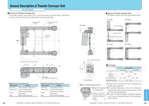 Transfer Conveyor Unit Stopper,Lifter Unit - 1
