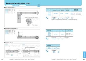 Transfer Conveyor Unit Stopper,Lifter Unit - 2