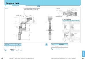 Transfer Conveyor Unit Stopper,Lifter Unit - 3