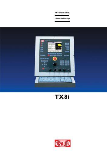 The innovative control concept TX8i