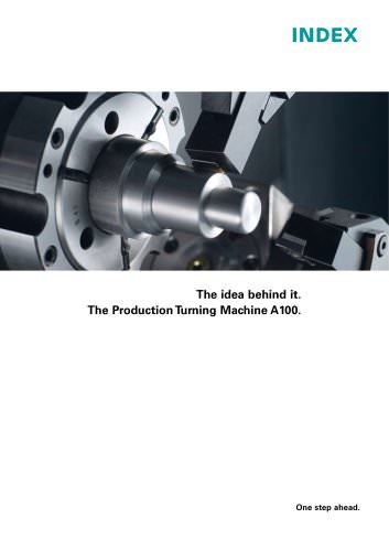 The Production Turning Machine A100