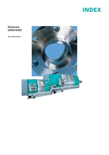 RatioLine G200/G300 Turn mill centers