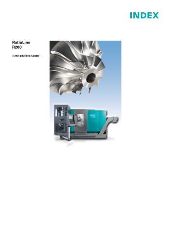 RatioLine R200 Turning/Milling Center