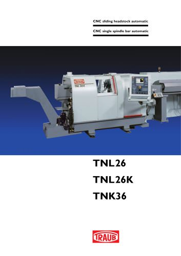 Single spindle bar automatic TNL26K
