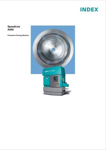SpeedLine A200 Production Turning Machine