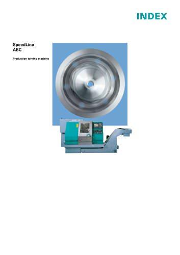 SpeedLine ABC Production turning machine