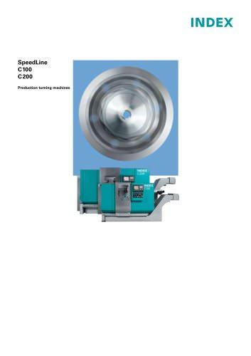 SpeedLine C100 C200 Production turning machines
