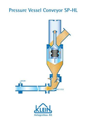 Pressure Vessel Conveyor SP-HL