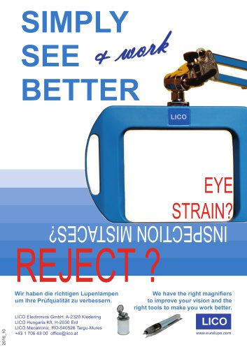 Simply See Better - with Both Eyes!
