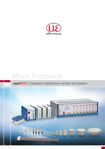 capaNCDT // Capacitive displacement sensors and systems