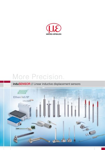 induSENSOR // Linear inductive displacement sensors