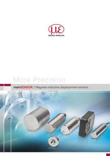 mainSENSOR // Magneto-inductive displacement sensors