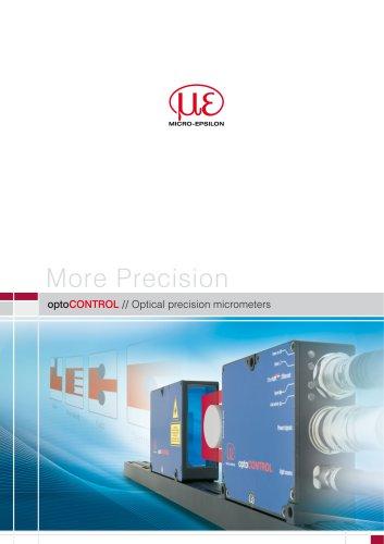 Optical precision micrometers