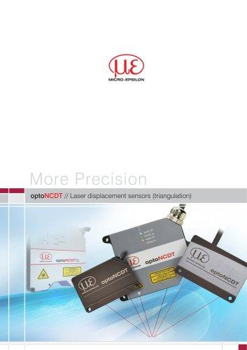 optoNCDT // Laser displacement sensors (triangulation)