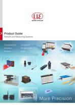 Product Guide Sensors and Measuring Systems