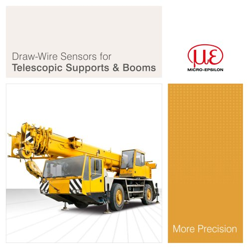 Telescopic Supports & Booms