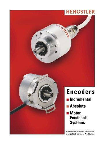 Encoder Main Catalog