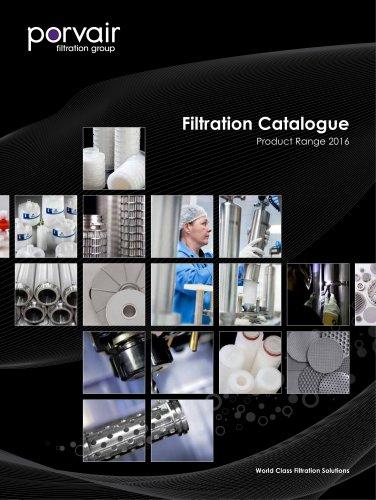 Filtration  Catalogue