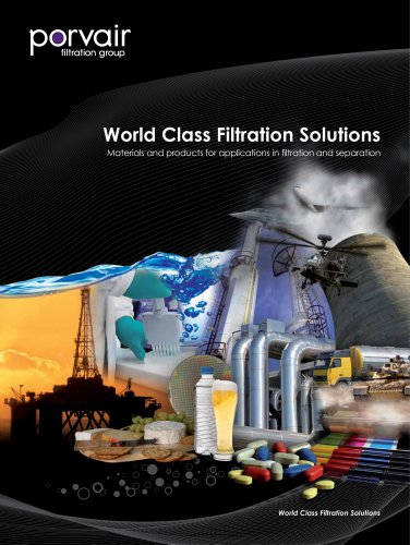 World Class Filtration Solutions