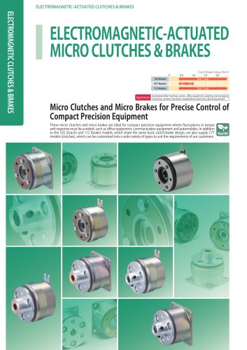 Electromagnetic Micro clutch and brake