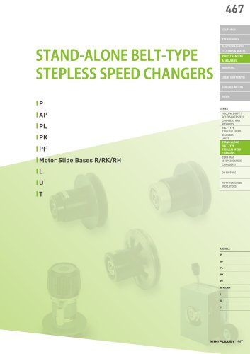 Speed change Pully