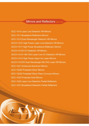 Daheng New Epoch Technology,Inc.-Mirrors and Reflectors