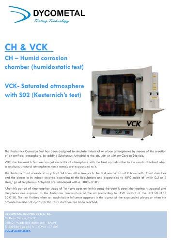 KESTERNICH/HUMIDITY CHAMBER, VCK/CH