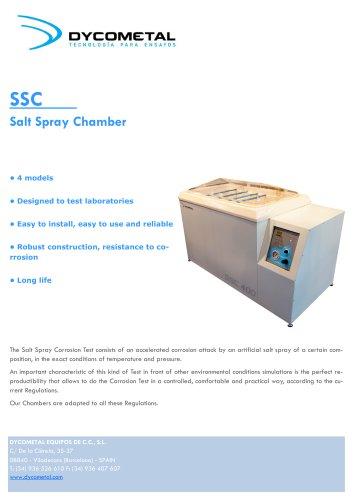 SALT SPRAY CHAMBER, SSC