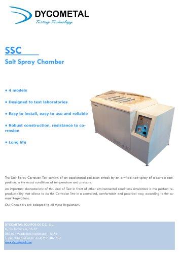 SSC      Salt Spray Chamber
