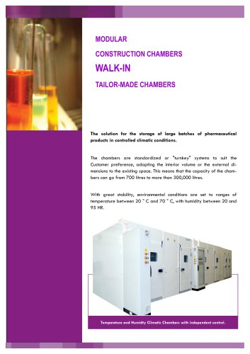 WALK-IN CLIMATIC CHAMBER, CCK/m